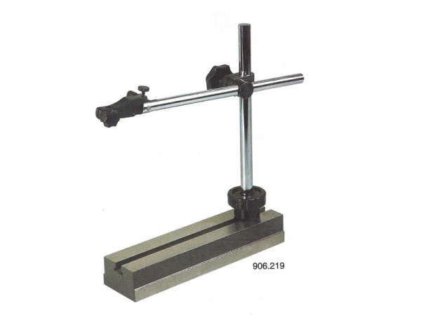 Measuring stand with Transverse arm, fine adjustment