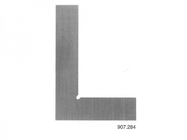 Úhelník plochý nerez ocel kalený 75x50