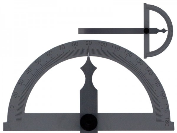 Bevel protractor 180° blade 120 mm