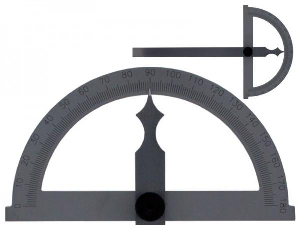 Obloukový úhloměr 180° čepel 150