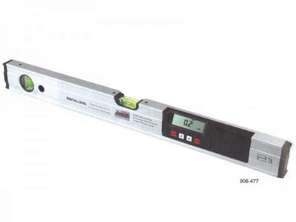 Digital clinometer with laser spot 4x90° 600 mm