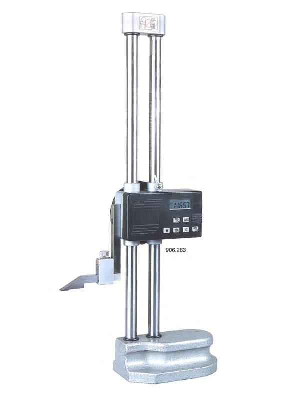 Digitální výškoměr dvojité vedení 450/0,01 mm