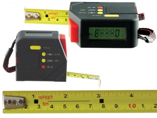 Digital measuring tape 0-5 m