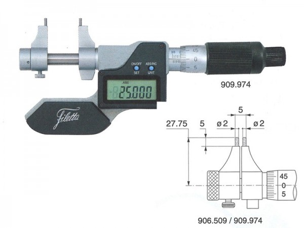 Digital Internal micrometer 5-30 mm