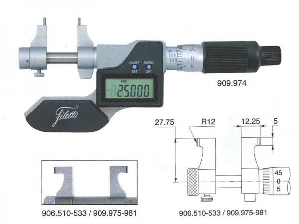 Digital Internal micrometer 75-100 mm