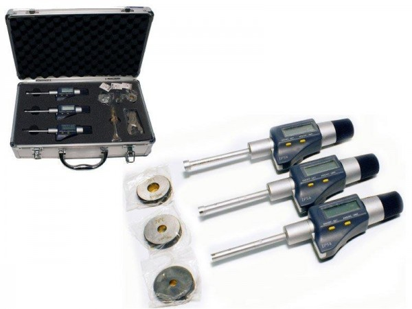 Set of Digital three-point internal micrometer 50-100 mm