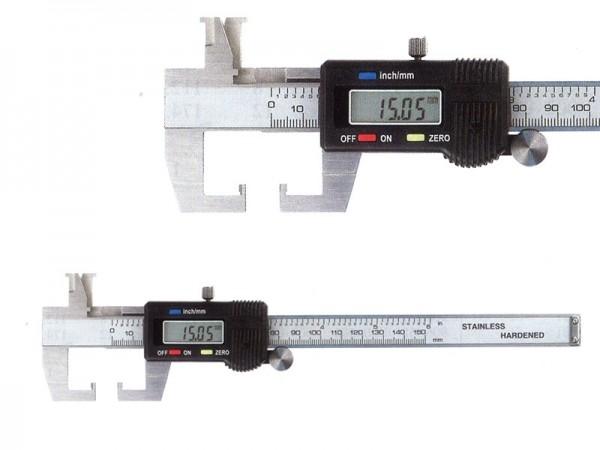 Digital caliper for groove measurements 0-125/0,01 mm