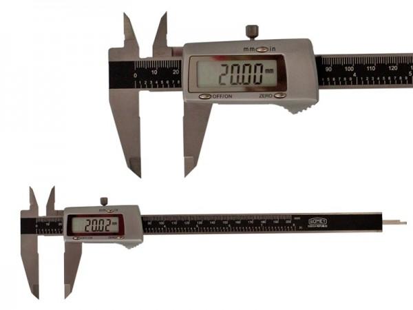 Digital Caliper All-metal 0-200