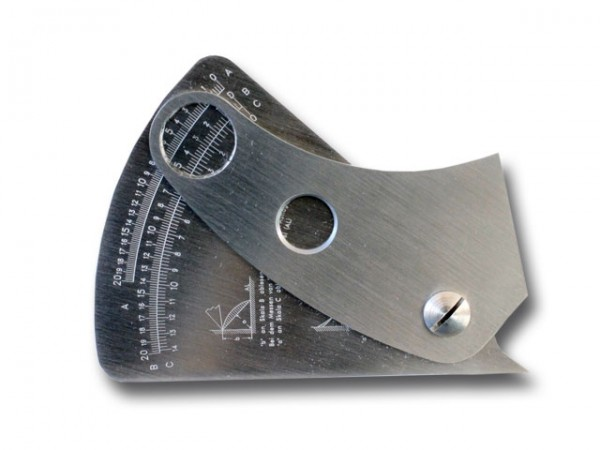Welding seam gauge