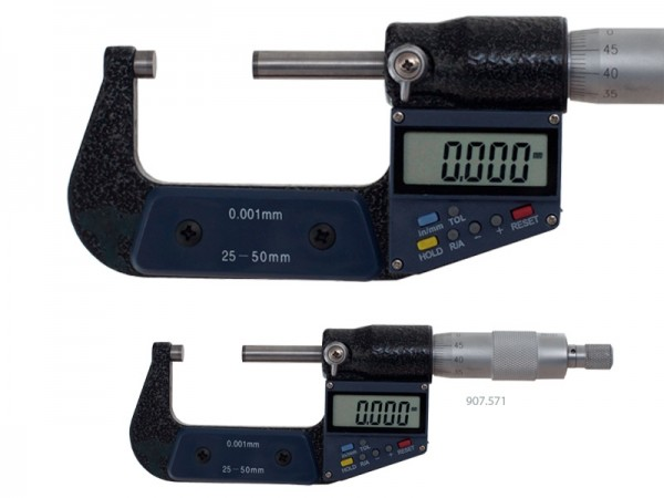 Digital micrometer with Tolerance indication 75-100 mm