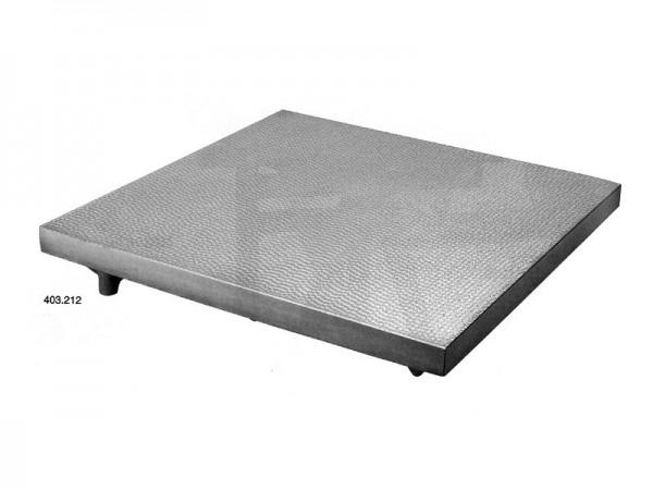 Litinová příměrná deska 1000x600 /0