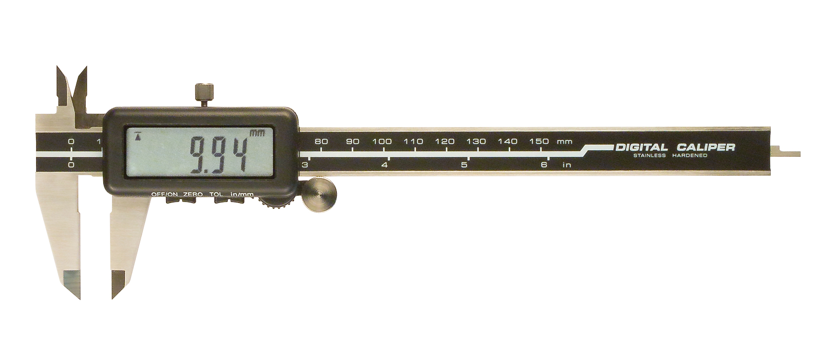 Digital caliper with tolerance function Go/NoGO 0-150 mm/0,01 mm