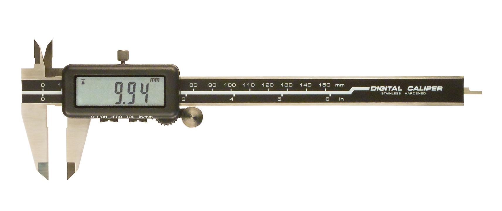 Digitální posuvné měřítko s tolerancí Go/NoGO 0-200 mm/0,01 mm