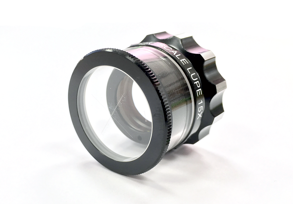 PEAK scale magnifier 15x