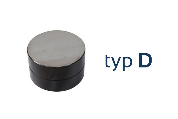Testovací blok tvrdosti - typ D