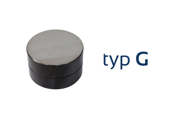 Testovací blok tvrdosti - typ G / 5,5 Kg