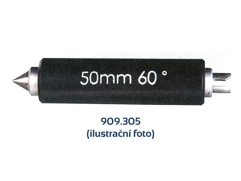 Tvrdokovová závitová měrka 60° / 25 mm