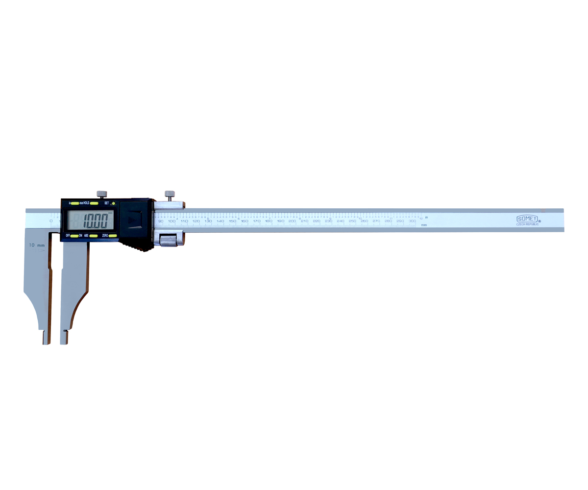 Analog caliper without upper jaws 0-300/0,01 mm SOMET