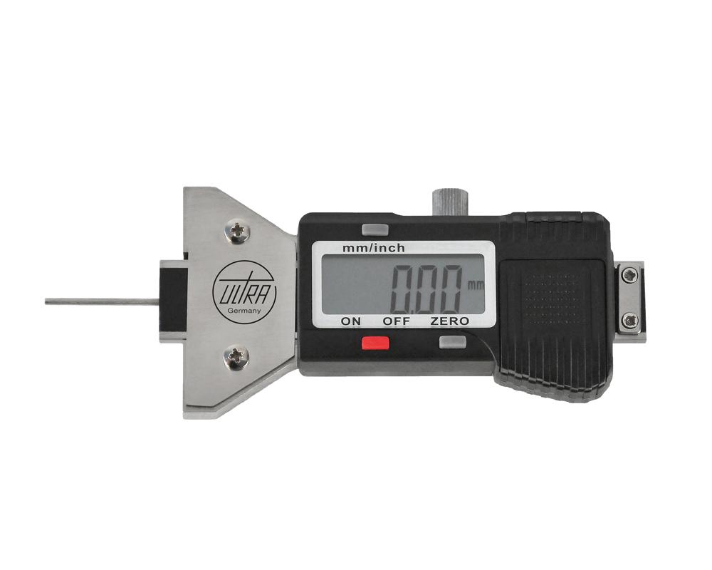 """ULTRA digitální hloubkoměr s extra dlouhou jehlou 0-25-/0,01 mm (0-1""""/0,0005"""")"""