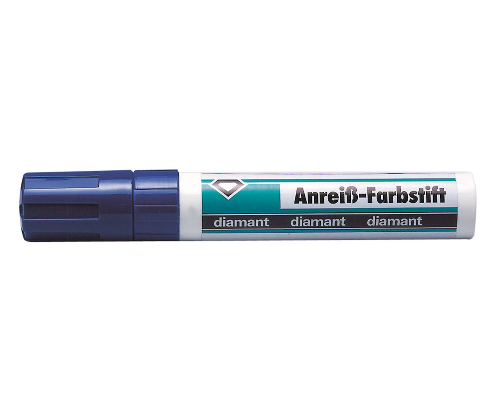Marking paint - blue pencil
