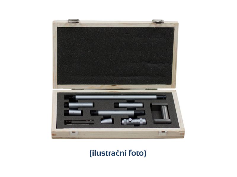 Digital stick micrometer set 150-2000 mm - 9 extensions