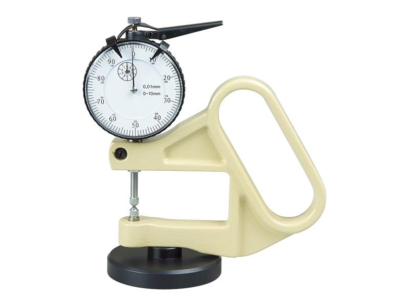 Analog thickness gauge inserts B 0-10 / 0,01 mm / 1,8 N