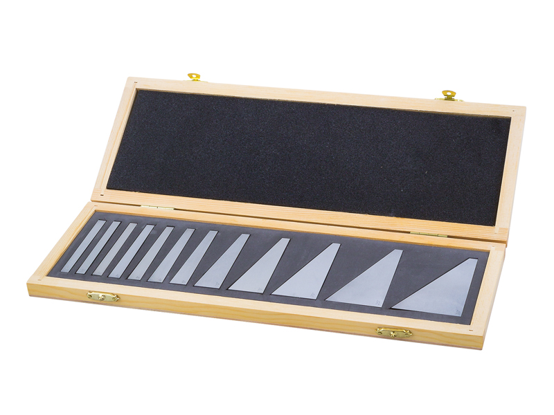 Set of angle gauge blocks 1/4° - 30°
