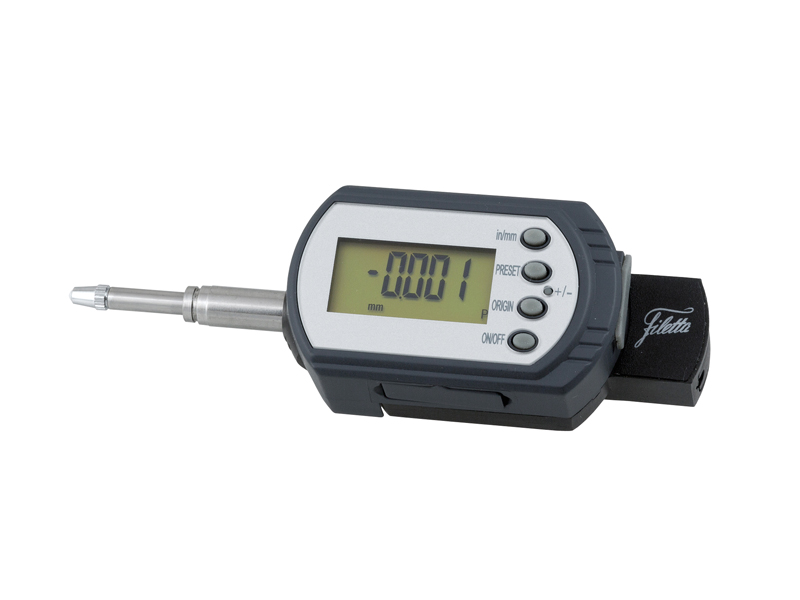 Absolute horizontal digital dial indicator  0-30/0,001 mm