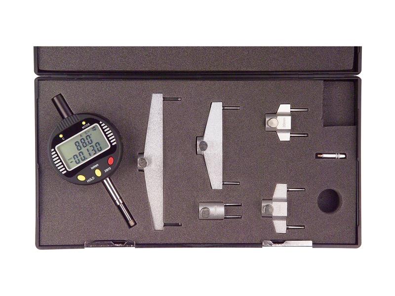 DIgitální úchylkoměr se základnami pro měření průměrů 0-13/0,005 mm