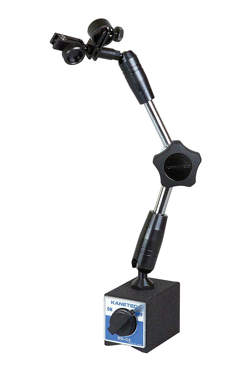 Magnetický stojánek s hydraulickým upínáním pro úchylkoměr Ø 6 a 8 mm / 1000 N