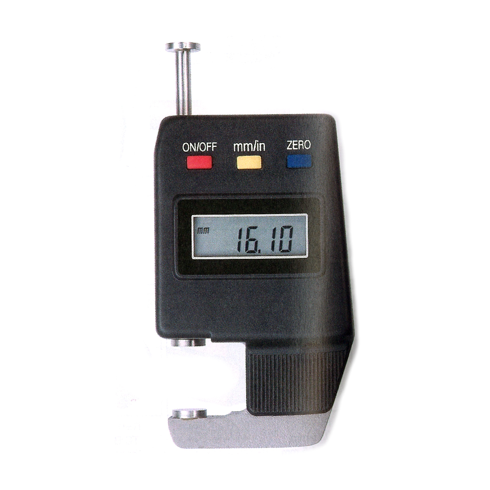 Digital portable thickness gauge 0-25/0,01