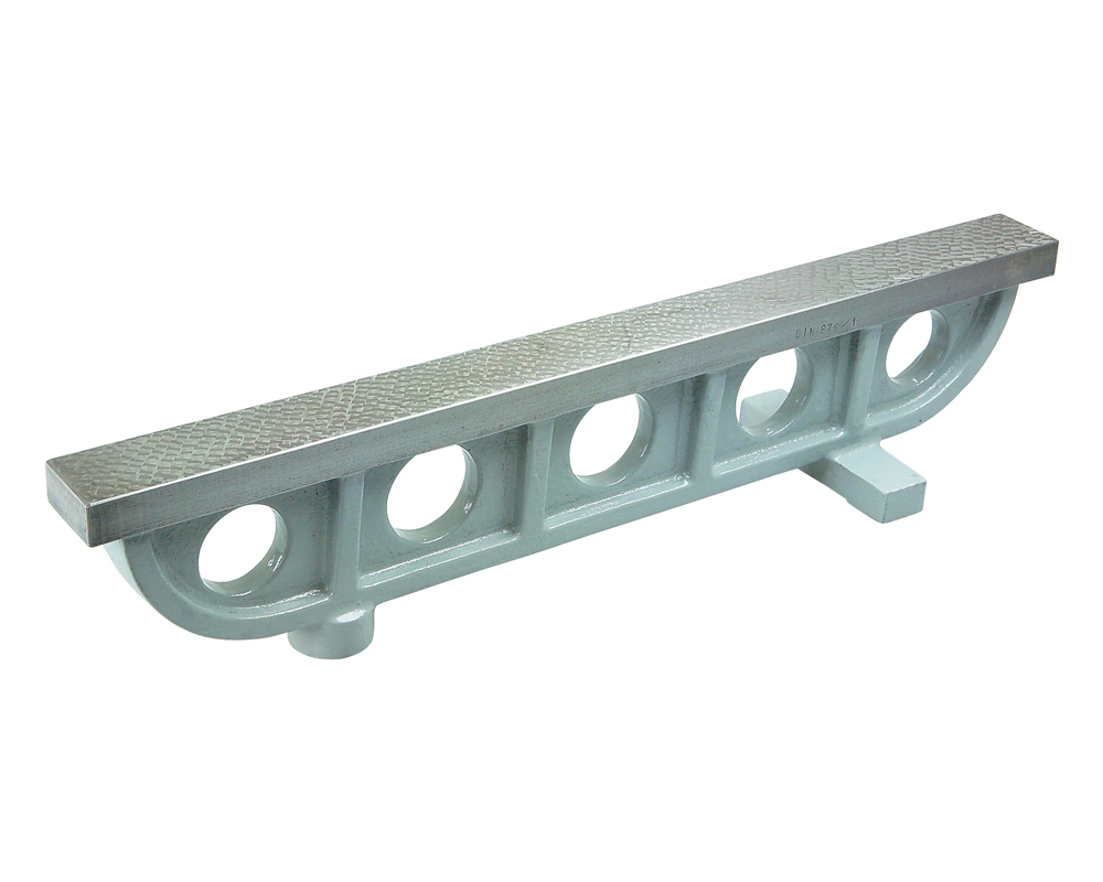 Cast iron bridge-type straight edge 750x45 mm / 0