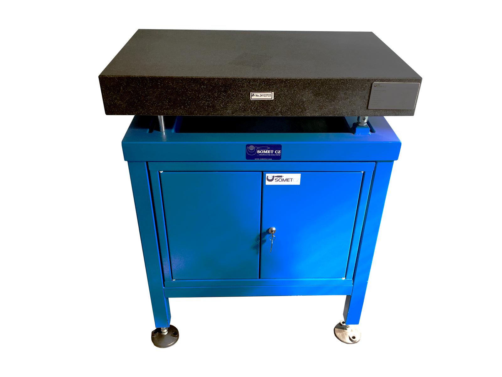 Set – Granitová deska 800x500x100 / tř. 00 + skříňový stojan