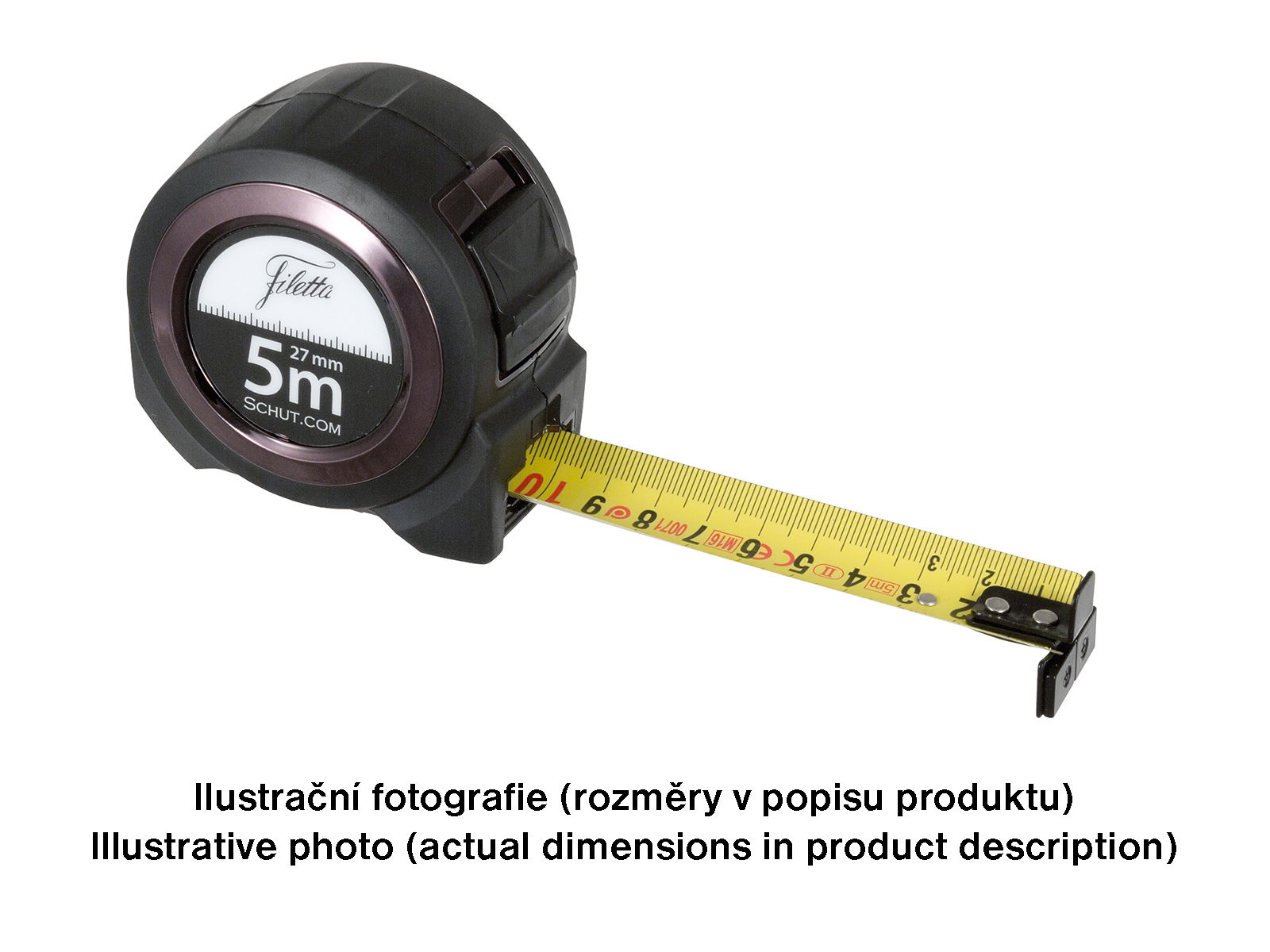 Professional double-sided precision tape 10 m / 27 mm