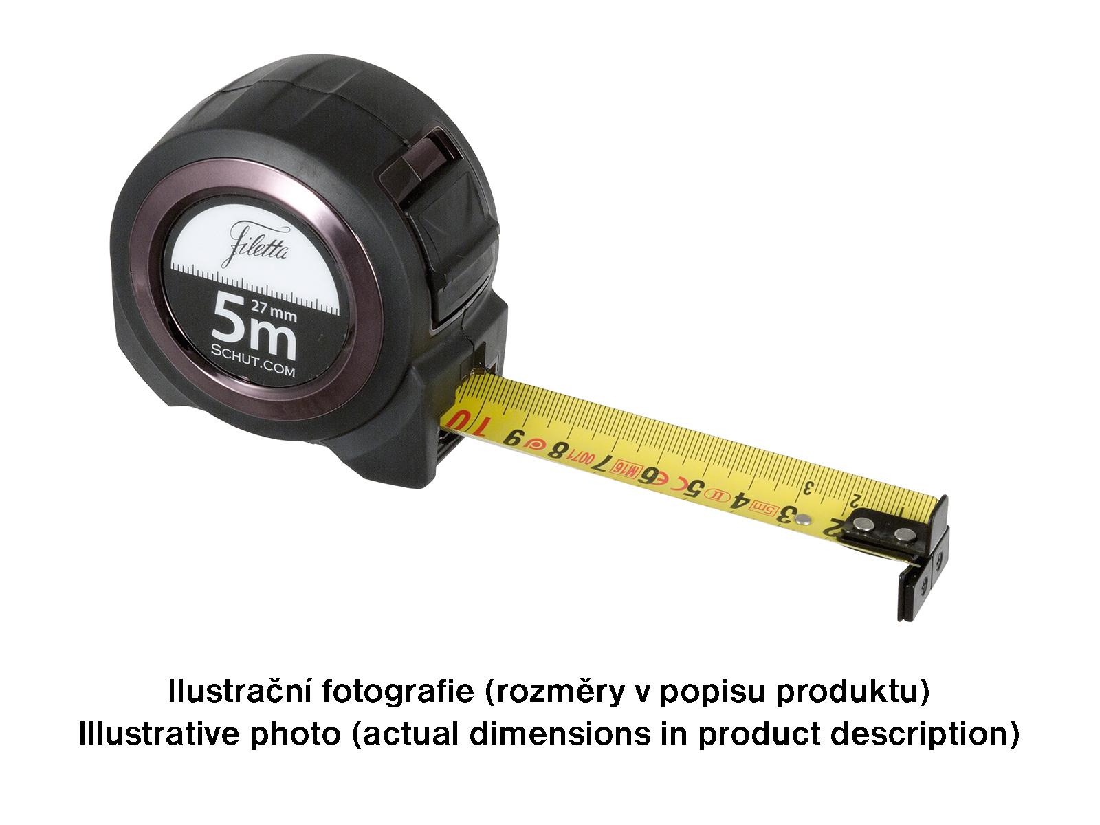 Profesionální oboustraný svinovaný metr 10 m / 27 mm