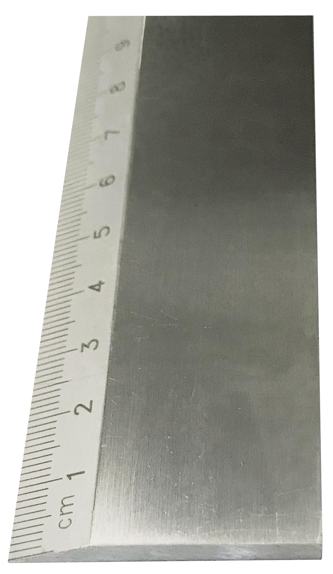 Měřítko z leštěné oceli, Schut, 1000x40x5mm