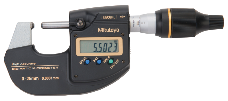 High Accuracy Digital Micrometer 0-25mm, Absolute Digimatic 2