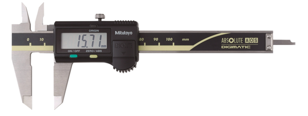 Digital caliper ABSOLUTE Digimatic 0-150mm, serie 500, flat depth rod