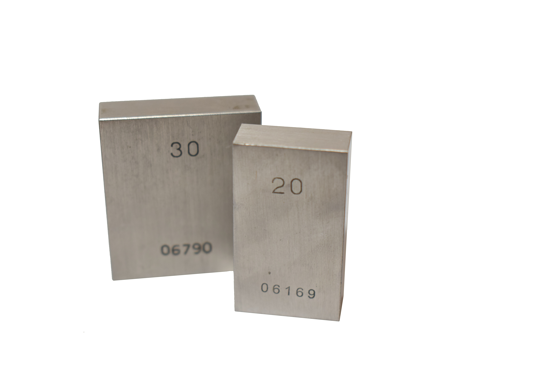 710004 Měrka koncová ocelová 4mm tř. př. I