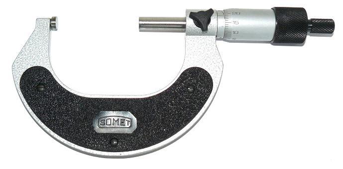 Třmenový mikrometr analogový SOMET 75-100 mm