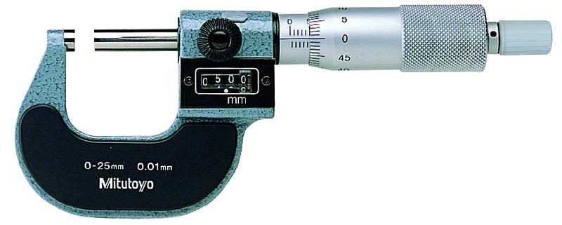 Třmenový mikrometr s čítačem 25-50 mm  MITUTOYO