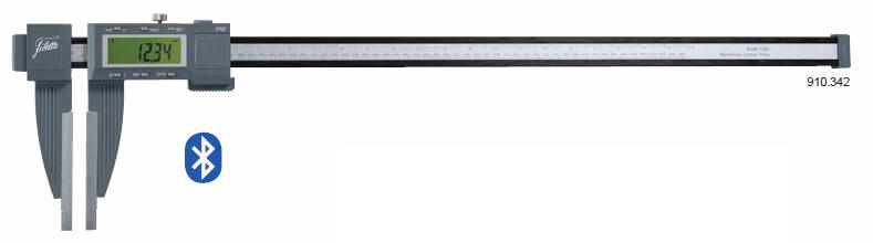 Digital carbon workshop calipers IP65 0-2000 mm Jaw length  500 mm