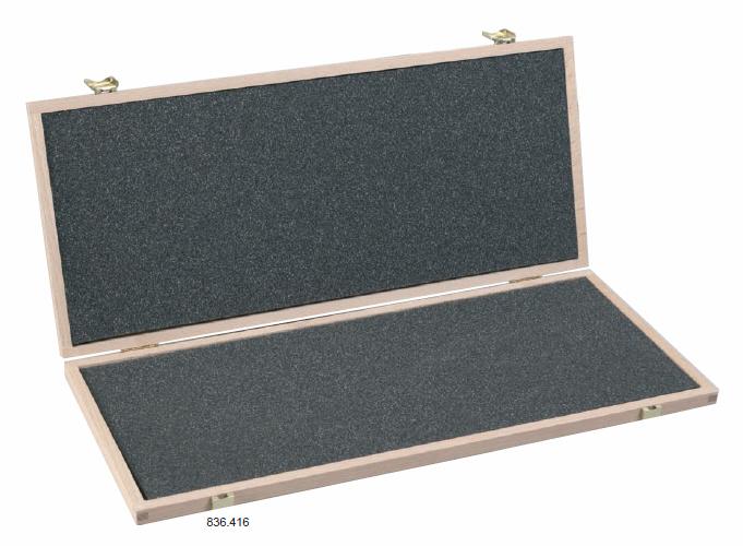 Dřevěné pouzdro pro posuvná měřítka 1100 x 480 x 25 mm