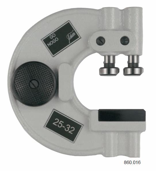 Adjustable snap gauges 0-6 mm