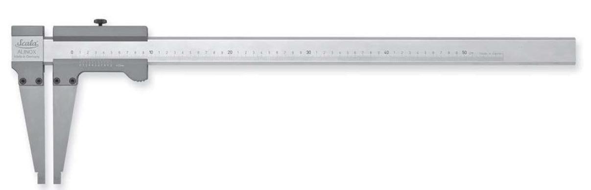 Alinox® 336 - analogové posuvné měřítko 0-800/125 mm