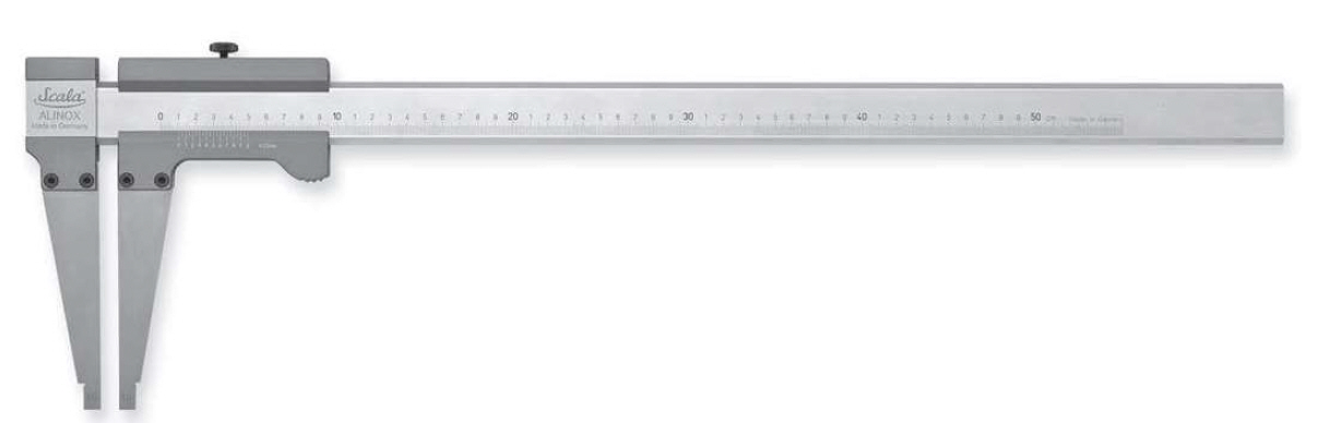 Alinox® 336 - analogové posuvné měřítko 0-1000/200 mm