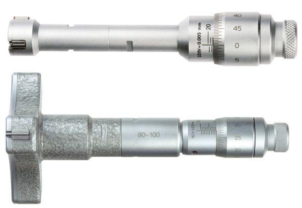 Three-point internal micrometer 90-100 mm