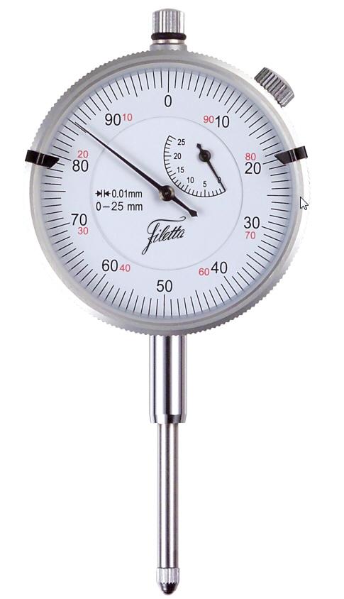 Dial indicator 60/25x0,01 mm